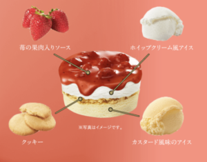 スーパーカップ 苺のショートケーキ